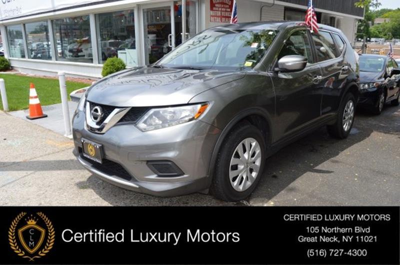 2015 Nissan Rogue S In Great Neck NY - Certified Luxury Motors