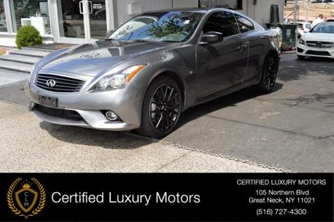 Certified 2015 Infiniti Q60 Coupe For Sale In Schaumburg Il