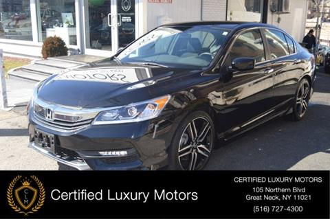 2016 Honda Accord for sale in Great Neck, NY