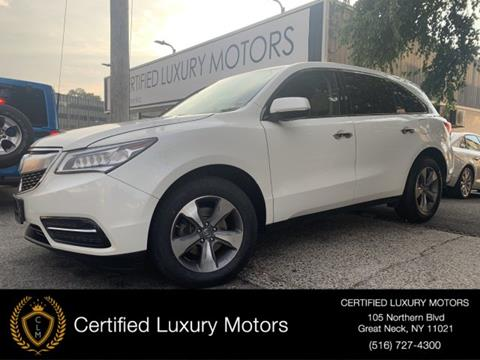 2016 Acura MDX for sale in Great Neck, NY