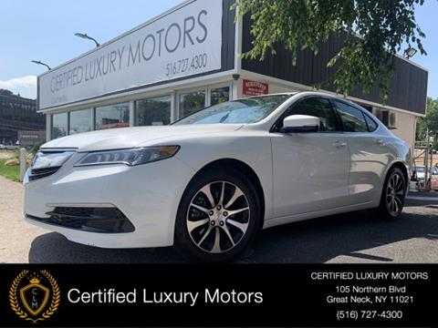 2017 Acura TLX for sale in Great Neck, NY