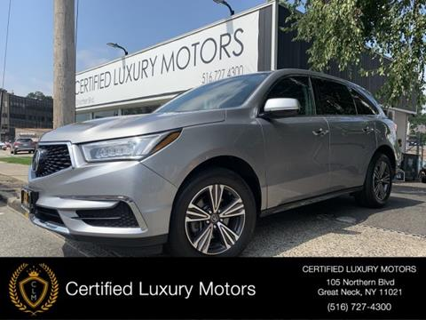 2017 Acura MDX for sale in Great Neck, NY