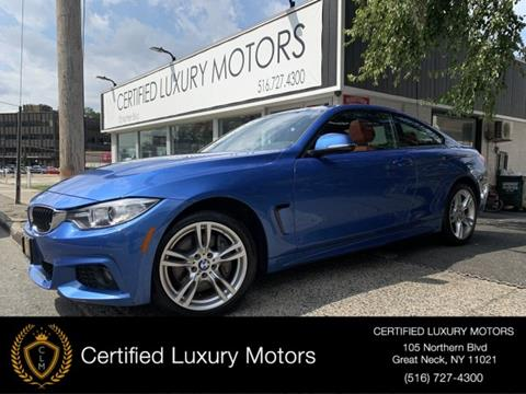 2017 BMW 4 Series for sale in Great Neck, NY