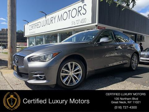 2015 Infiniti Q50 for sale in Great Neck, NY