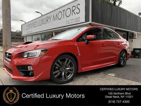 2016 Subaru WRX for sale in Great Neck, NY