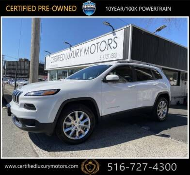 2017 Jeep Cherokee Limited for sale at Certified Luxury Motors in Great Neck NY