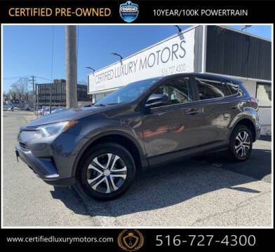 2018 Toyota RAV4 LE for sale at Certified Luxury Motors in Great Neck NY