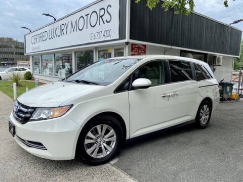 2017 Honda Odyssey EX-L for sale at Certified Luxury Motors in Great Neck NY