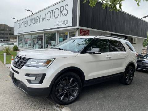 2017 Ford Explorer XLT for sale at Certified Luxury Motors in Great Neck NY
