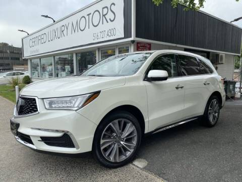 2017 Acura MDX SH-AWD w/Tech for sale at Certified Luxury Motors in Great Neck NY