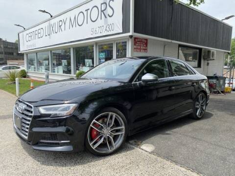 2017 Audi S3 2.0T quattro Premium Plus for sale at Certified Luxury Motors in Great Neck NY