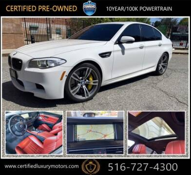 2013 BMW M5 for sale at Certified Luxury Motors in Great Neck NY