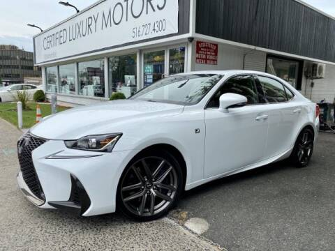 2017 Lexus IS 300 for sale at Certified Luxury Motors in Great Neck NY