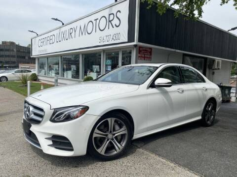 2017 Mercedes-Benz E-Class E 300 4MATIC for sale at Certified Luxury Motors in Great Neck NY