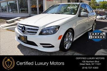 2011 Mercedes-Benz C-Class for sale in Great Neck, NY