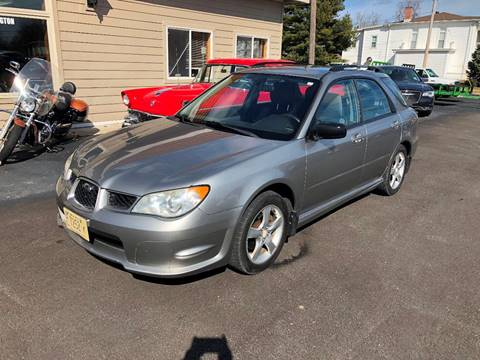 2007 Subaru Impreza for sale at J2 WHEELS UNLIMITED in Griggsville IL