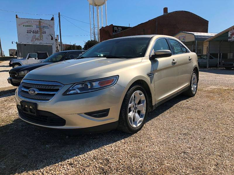 2010 Ford Taurus for sale at J2 WHEELS UNLIMITED in Griggsville IL