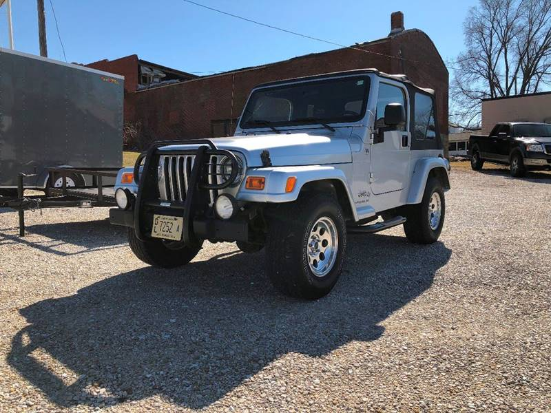 2006 Jeep Wrangler For Sale At J2 WHEELS UNLIMITED In Pittsfield IL