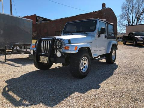 2006 Jeep Wrangler for sale at J2 WHEELS UNLIMITED in Griggsville IL