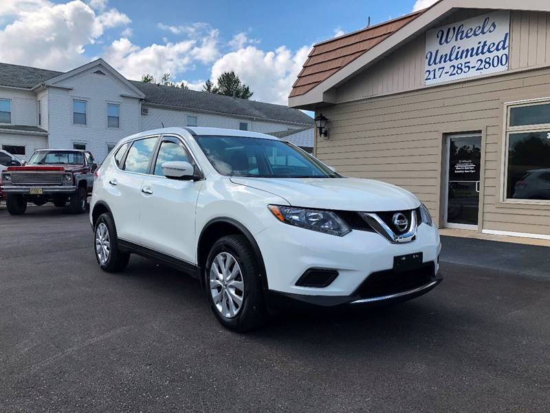 2015 Nissan Rogue for sale at J2 WHEELS UNLIMITED in Griggsville IL