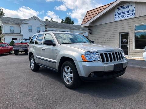 2008 Jeep Grand Cherokee for sale at J2 WHEELS UNLIMITED in Griggsville IL