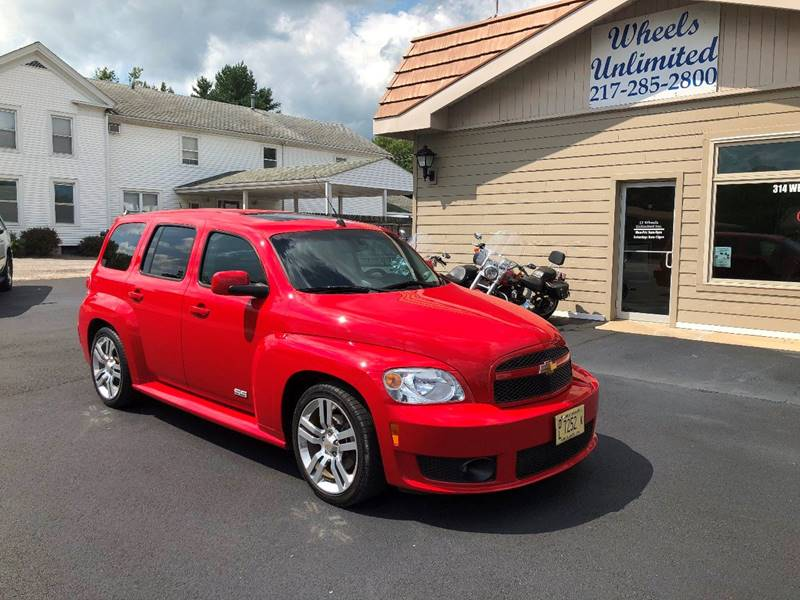2010 Chevrolet HHR for sale at J2 WHEELS UNLIMITED in Griggsville IL