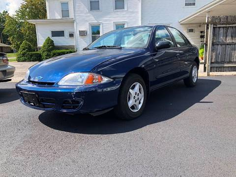 2001 Chevrolet Cavalier for sale at J2 WHEELS UNLIMITED in Griggsville IL
