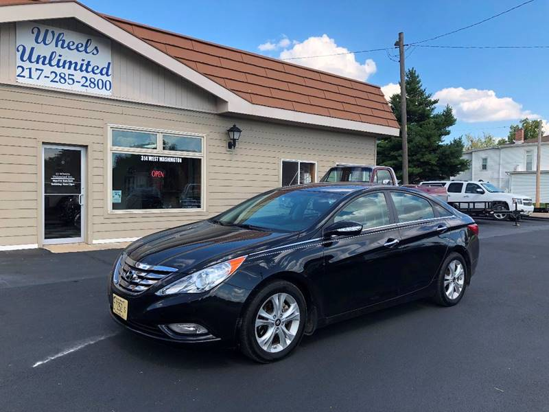 2011 Hyundai Sonata For Sale At J2 WHEELS UNLIMITED In Pittsfield IL