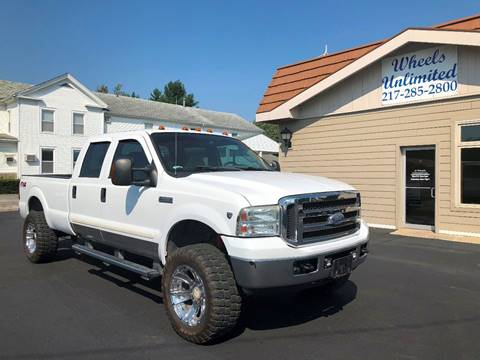 2005 Ford F-350 Super Duty for sale at J2 WHEELS UNLIMITED in Griggsville IL