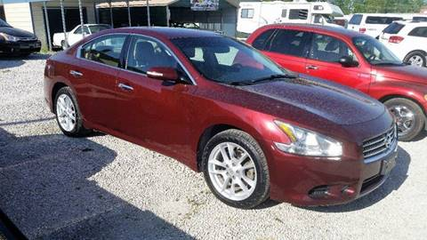 2009 Nissan Maxima for sale at J2 WHEELS UNLIMITED in Griggsville IL