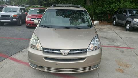2005 Toyota Sienna for sale at Adonai Auto Broker in Marietta GA