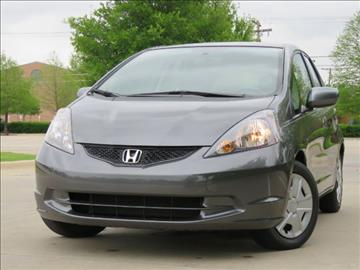 2013 Honda Fit for sale at Automatch Texas in Richardson TX