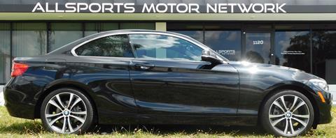 2018 BMW 2 Series for sale in Miami Gardens, FL