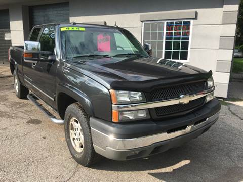 2003 Chevrolet Silverado 1500 for sale at T K Automotive in Caledonia NY