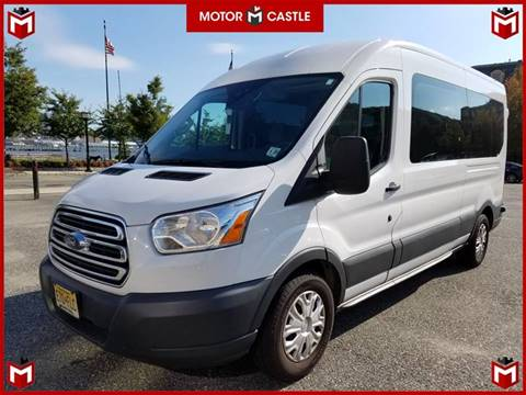 2015 Ford Transit Wagon for sale at Motor Castle in Englewood NJ