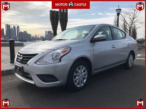 2015 Nissan Versa for sale at Motor Castle in Englewood NJ