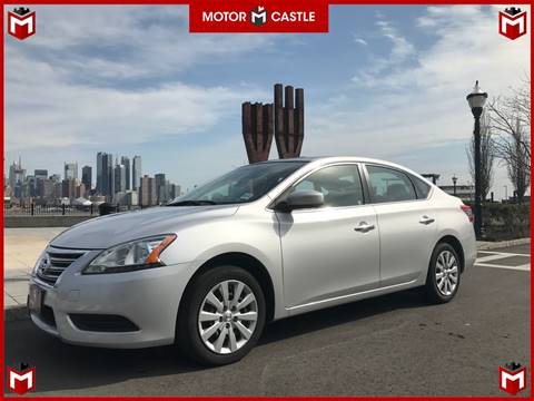 2014 Nissan Sentra for sale at Motor Castle in Englewood NJ