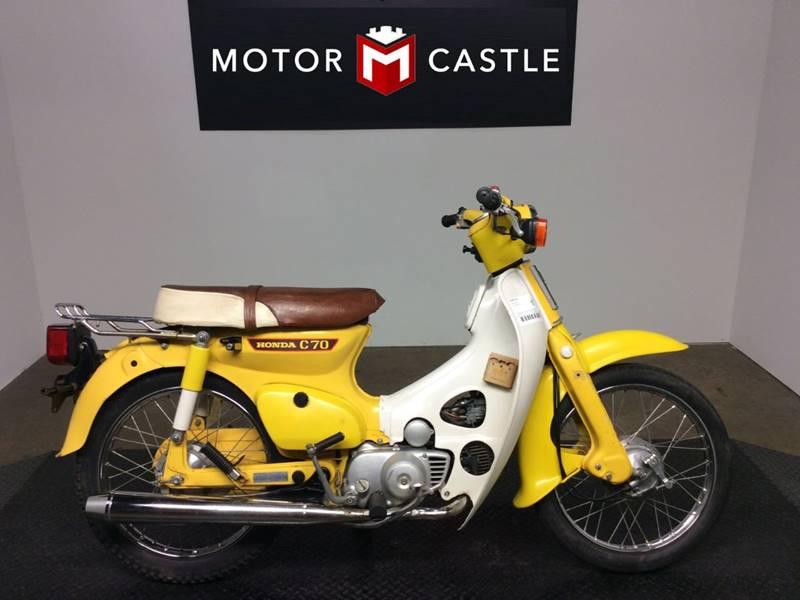 1980 Honda C70 for sale at Motor Castle in Englewood NJ