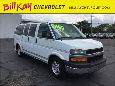 2004 Chevrolet Express Passenger for sale in Lisle, IL