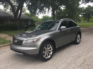 2006 Infiniti FX35 for sale in Fort Worth, TX