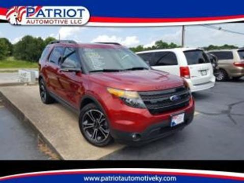 2015 Ford Explorer for sale in Georgetown KY