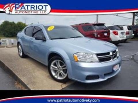 2013 Dodge Avenger for sale in Georgetown KY