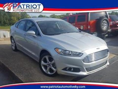 2015 Ford Fusion for sale in Georgetown, KY