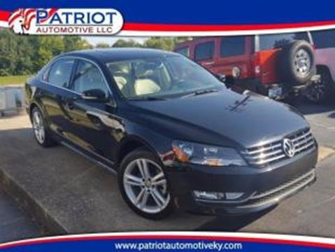 2015 Volkswagen Passat for sale in Georgetown, KY