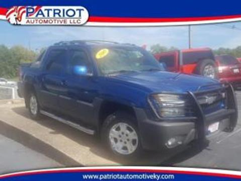2003 Chevrolet Avalanche for sale in Georgetown, KY
