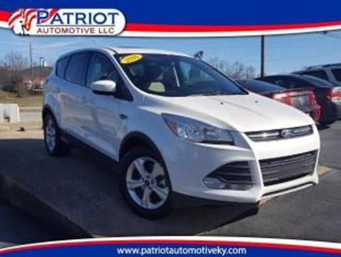 2016 Ford Escape for sale in Georgetown KY