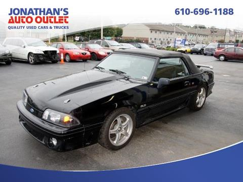 1991 Ford Mustang for sale in West Chester, PA