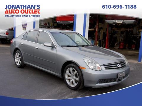 2005 Infiniti G35 for sale in West Chester, PA