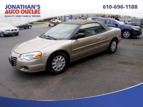 2004 Chrysler Sebring for sale in West Chester, PA