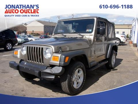 2004 Jeep Wrangler for sale in West Chester, PA